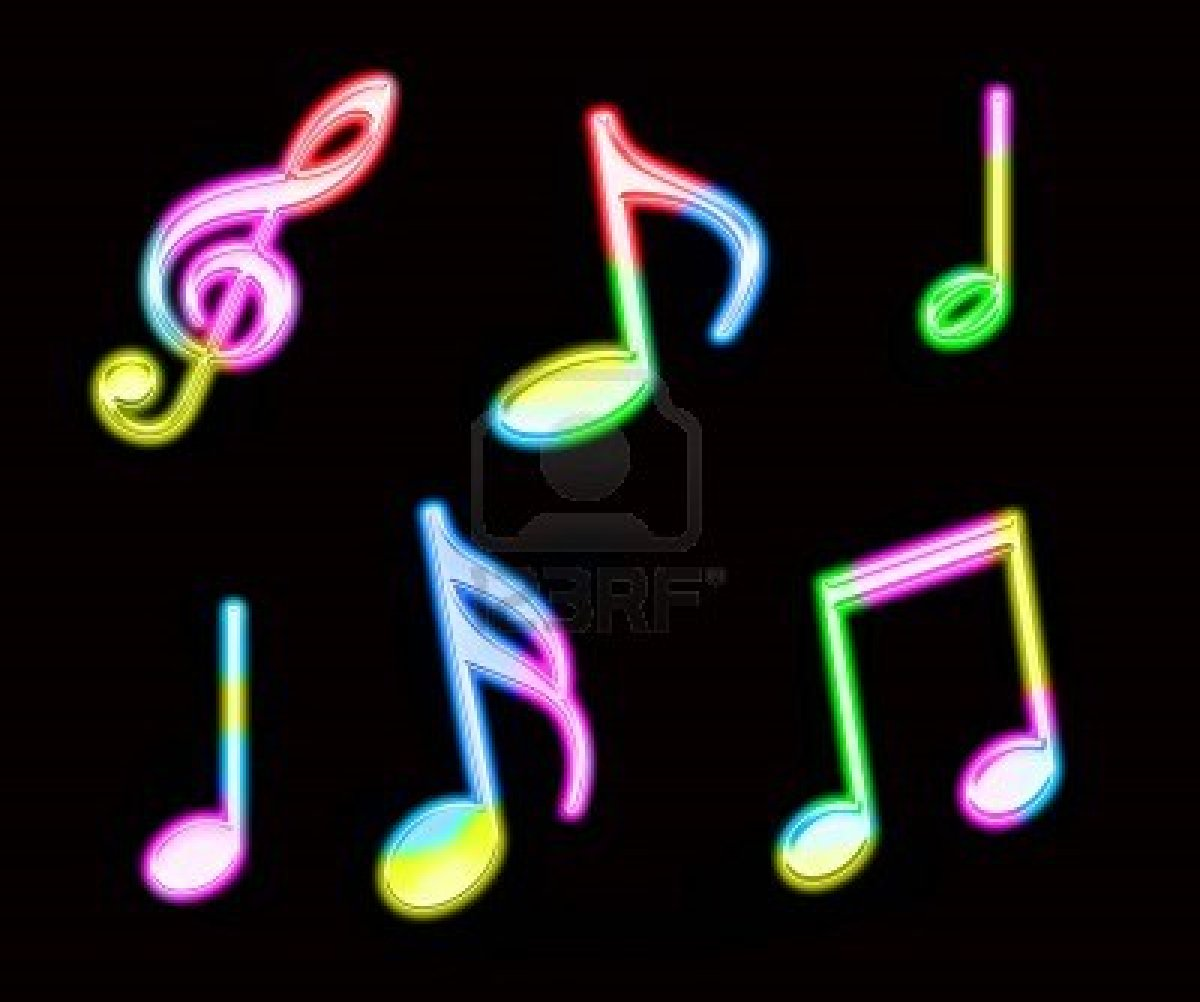 The gallery for --> Neon Music Wallpaper