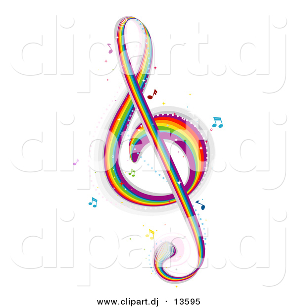 Colorful Music Clipart