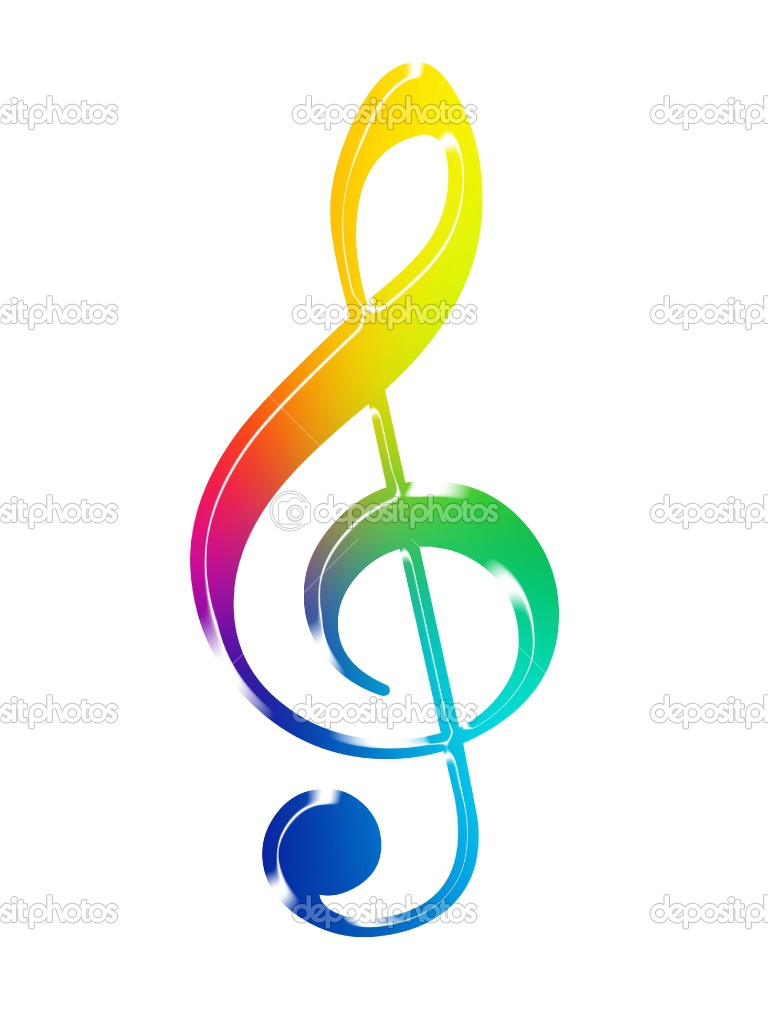 Colorful Music Notes Symbols | Clipart Panda - Free ...  Colorful Music ...