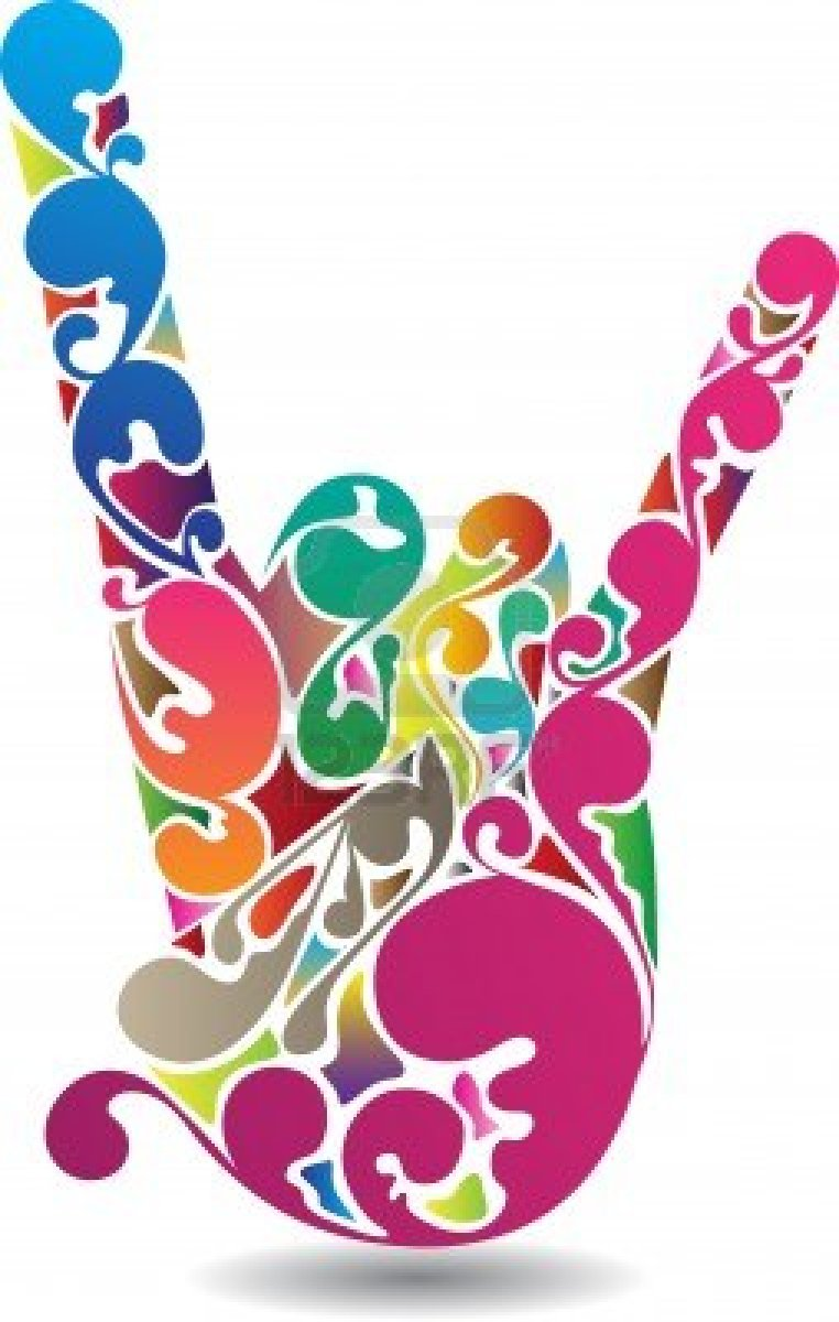 Colorful Musical Notes Symbols | Clipart Panda - Free ...