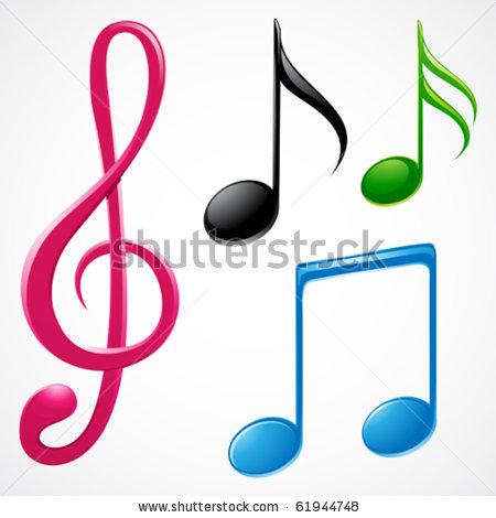 Pictures Of Colorful Musical Notes Symbols Kidskunstinfo
