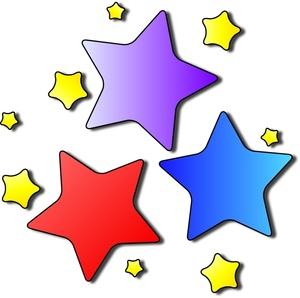 Colorful Shooting Stars Clipart | Clipart Panda - Free ...