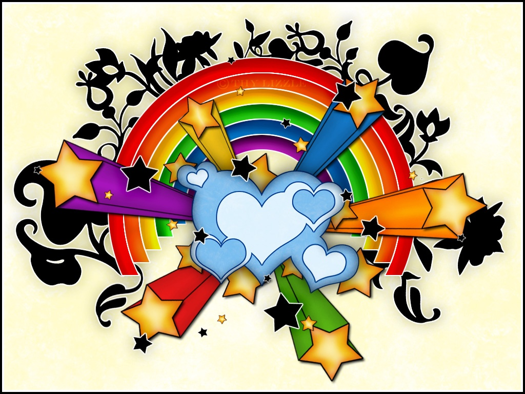 Colorful Stars And Hearts   Clipart Panda - Free Clipart Images
