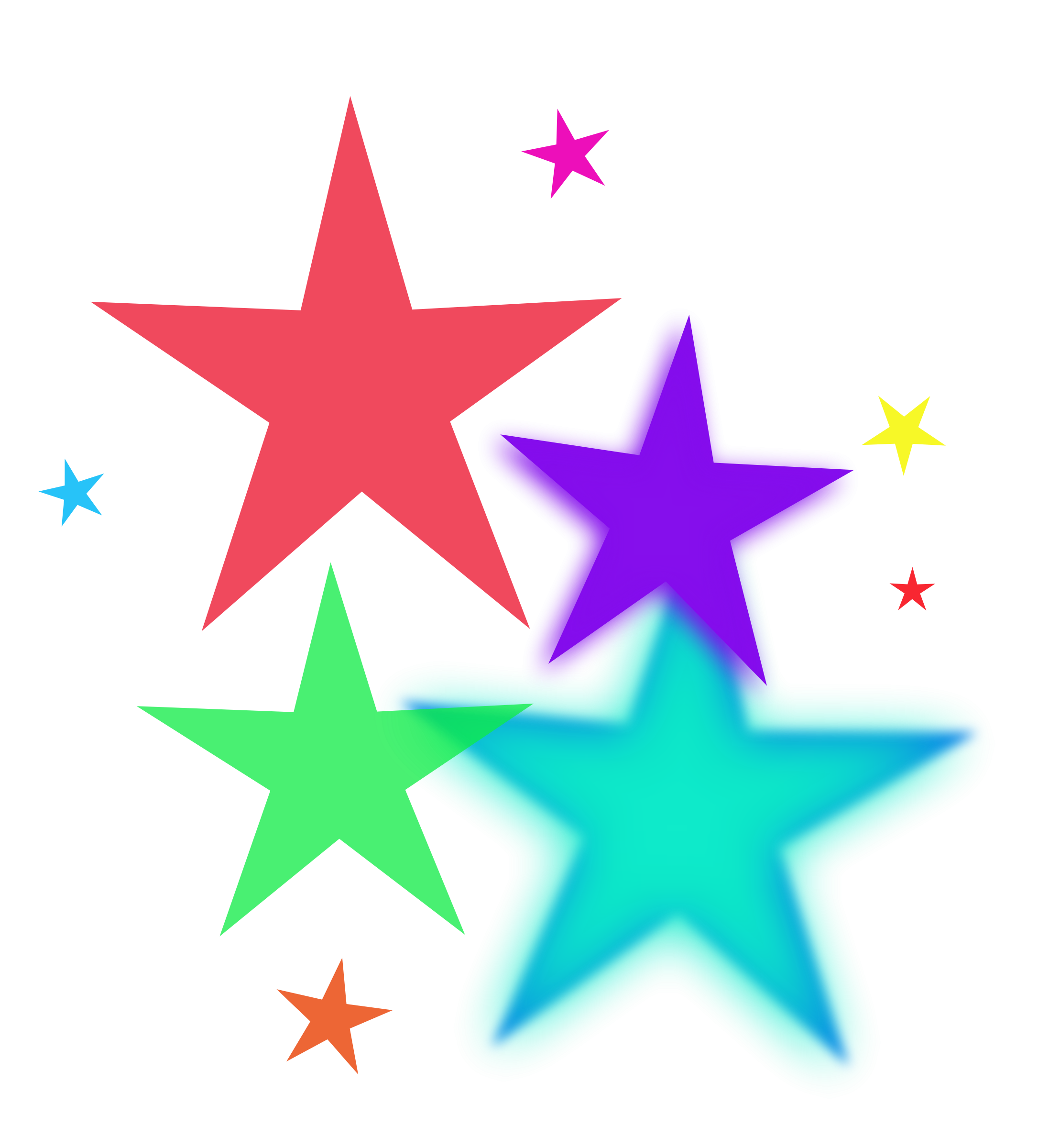 Colorful Stars colorful stars and