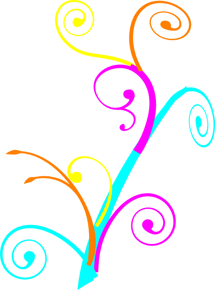 colorful swirls clipart clipart panda free clipart images