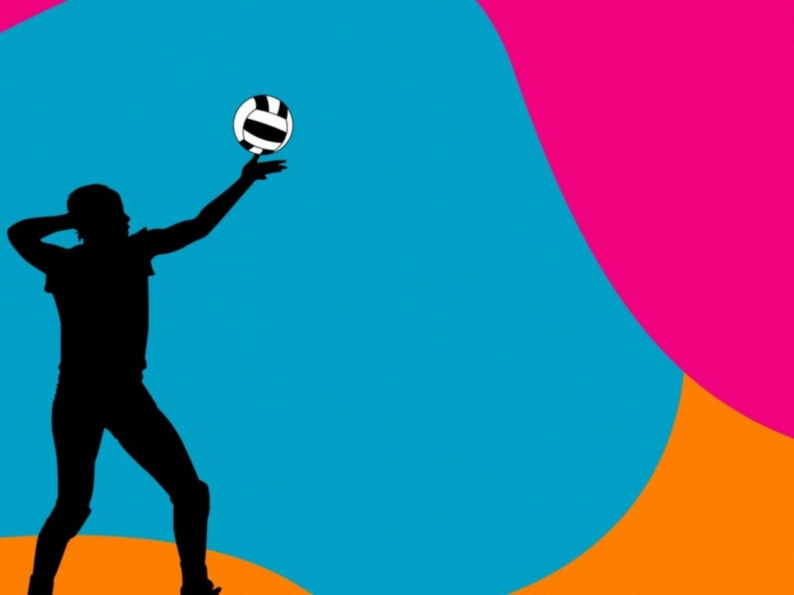 Colorful Volleyball Ball Backgrounds | Clipart Panda ...