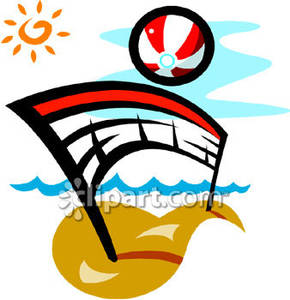 beach volleyball clipart clipart panda free clipart images rh clipartpanda com sand volleyball clipart free beach volleyball ball clipart