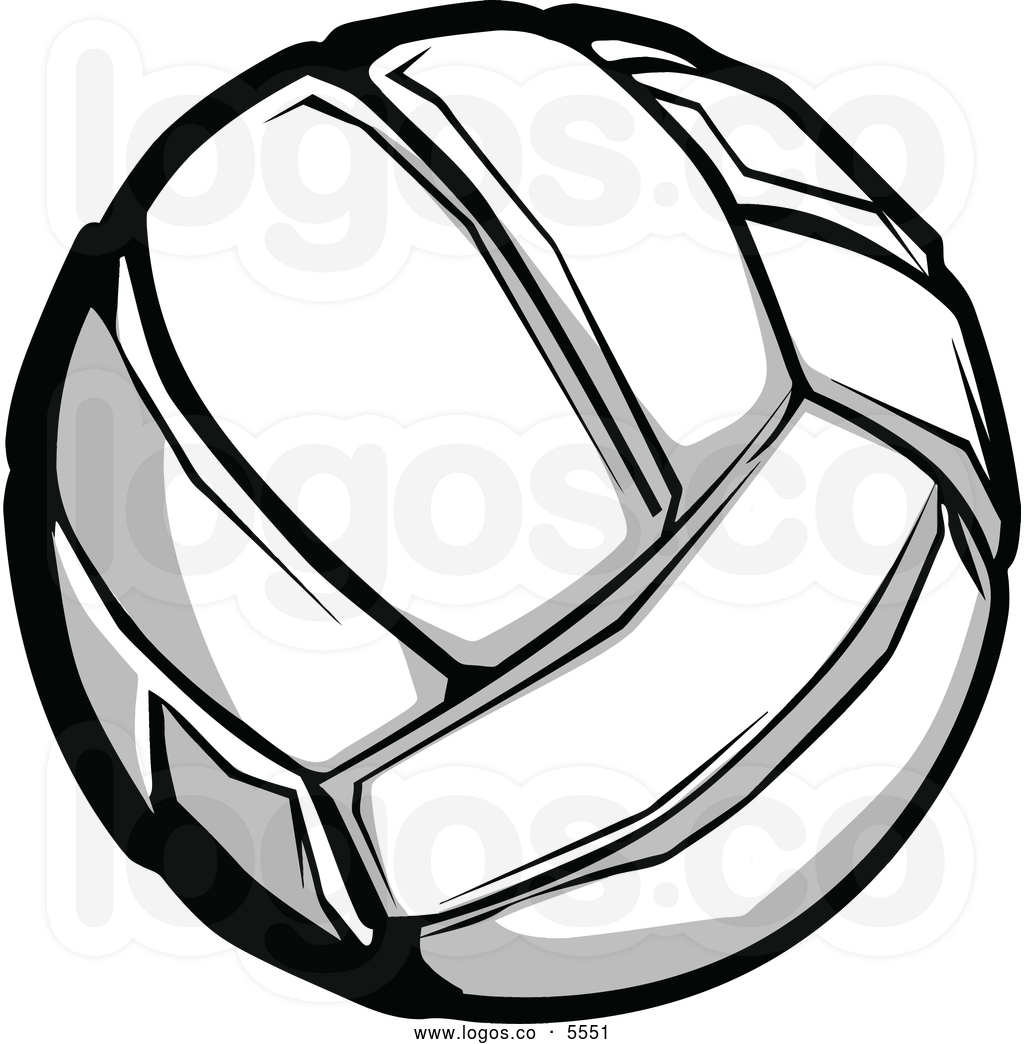 volleyball clipart vector-#43
