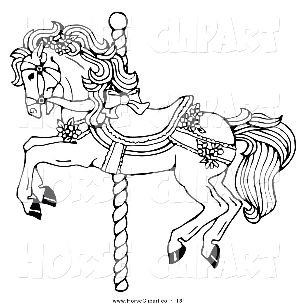 coloring20pages20clipart - Horse Color Page