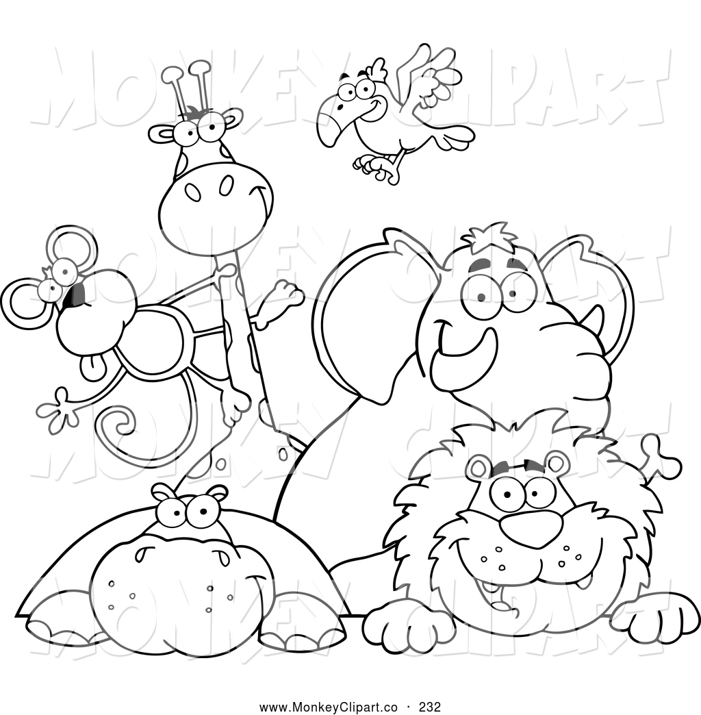 Toddler zoo coloring pages - Coloring 20pages 20clipart