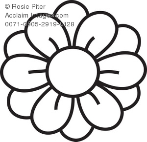 Flower Coloring Pages Clipart   Clipart Panda - Free Clipart ...