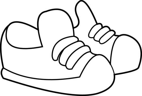 childrens coloring pages shoes - photo#3
