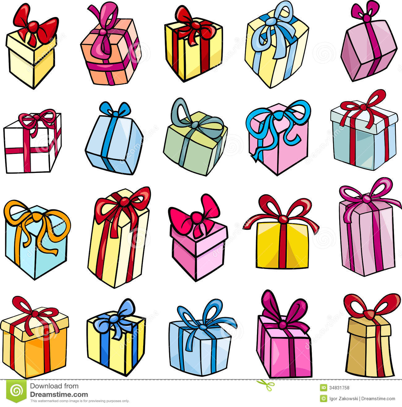 Wedding Gift Clipart Free : commemoration-clipart-christmas-birthday-gift-clip-art-set-cartoon ...