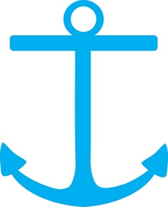 Blue Sailboat Clipart