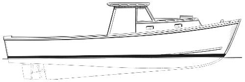 Commercial Fishing Boat Drawing | Clipart Panda - Free ...
