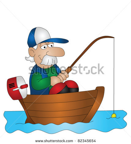 детские картинки про рыбака и
