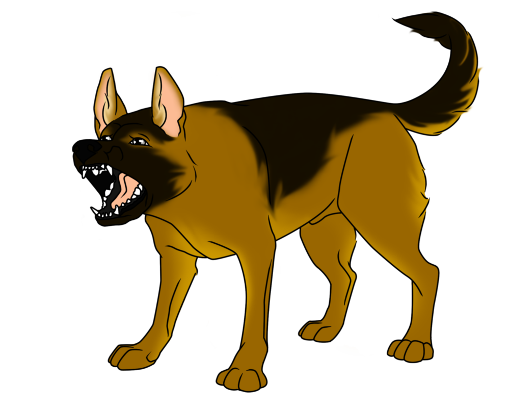 German Shepherd Clipart