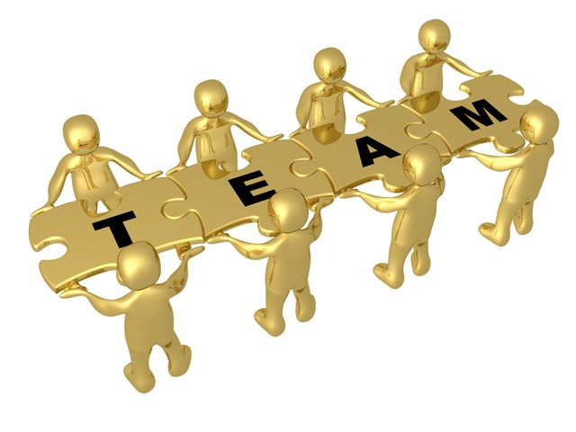 Team Of 8 Gold People Holding | Clipart Panda - Free Clipart Images X Clipart