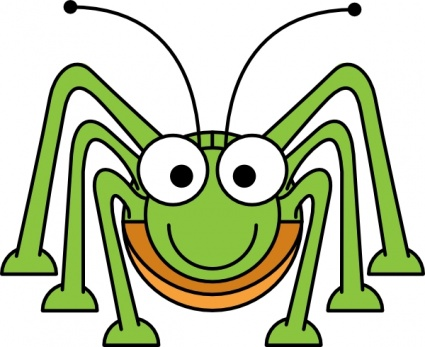 Common Green Grasshopper | Clipart Panda - Free Clipart Images