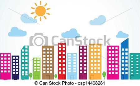 City Community Clipart