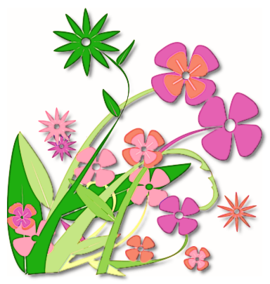 spring flowers (PNG, | Clipart Panda - Free Clipart Images