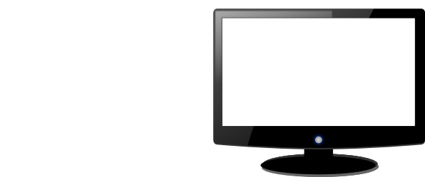 Computer Screen Clipart Black And White | Clipart Panda ...