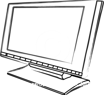 computer monitor with Puter Monitor Clip Art on puterSystem ponents together with puter Clipart Black And White 33977 in addition Download Cartelli Videosorveglianza also SXD in addition Parts Of The  puter Clipart Black And White.