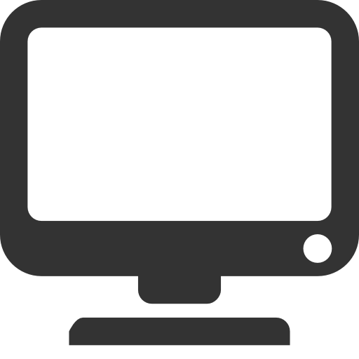 Computer monitor computer monitor icon