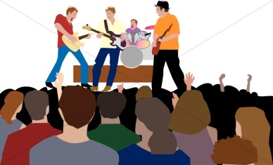 Image result for concert clipart