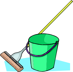 Confession clipart mop and bucket clip art medium