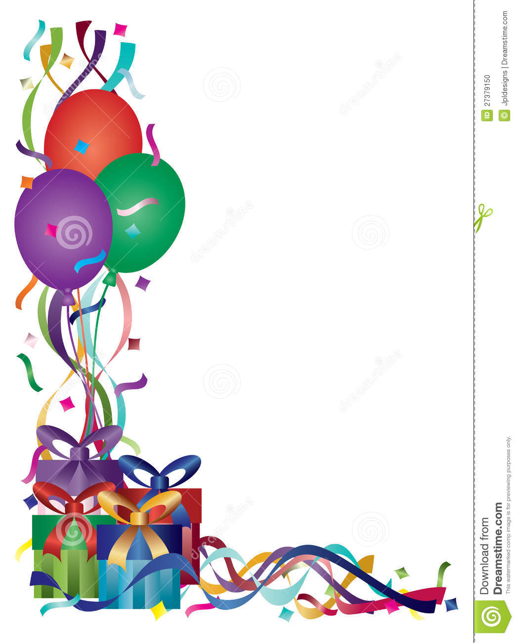 Birthday Confetti | Clipart Panda - Free Clipart Images