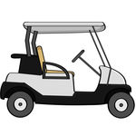 Clip Art Golf Cart Clipart golf cart clip art black and white clipart panda free clipart