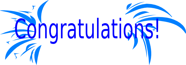 Image result for congratulations clipart
