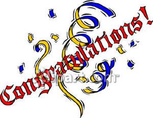 congratulations clipart free clipart panda free clipart images rh clipartpanda com congratulations graduate clipart free congratulations clipart free animated