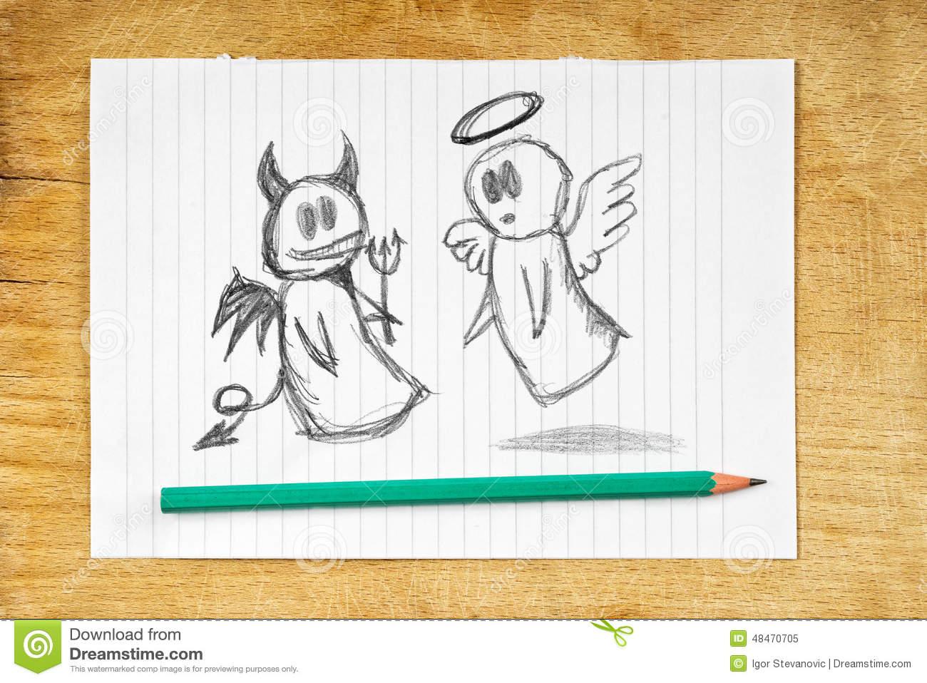Как нарисовать совесть нарисуйте картинками