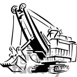 3041 construction clip artUnder Construction Clipart Black And White