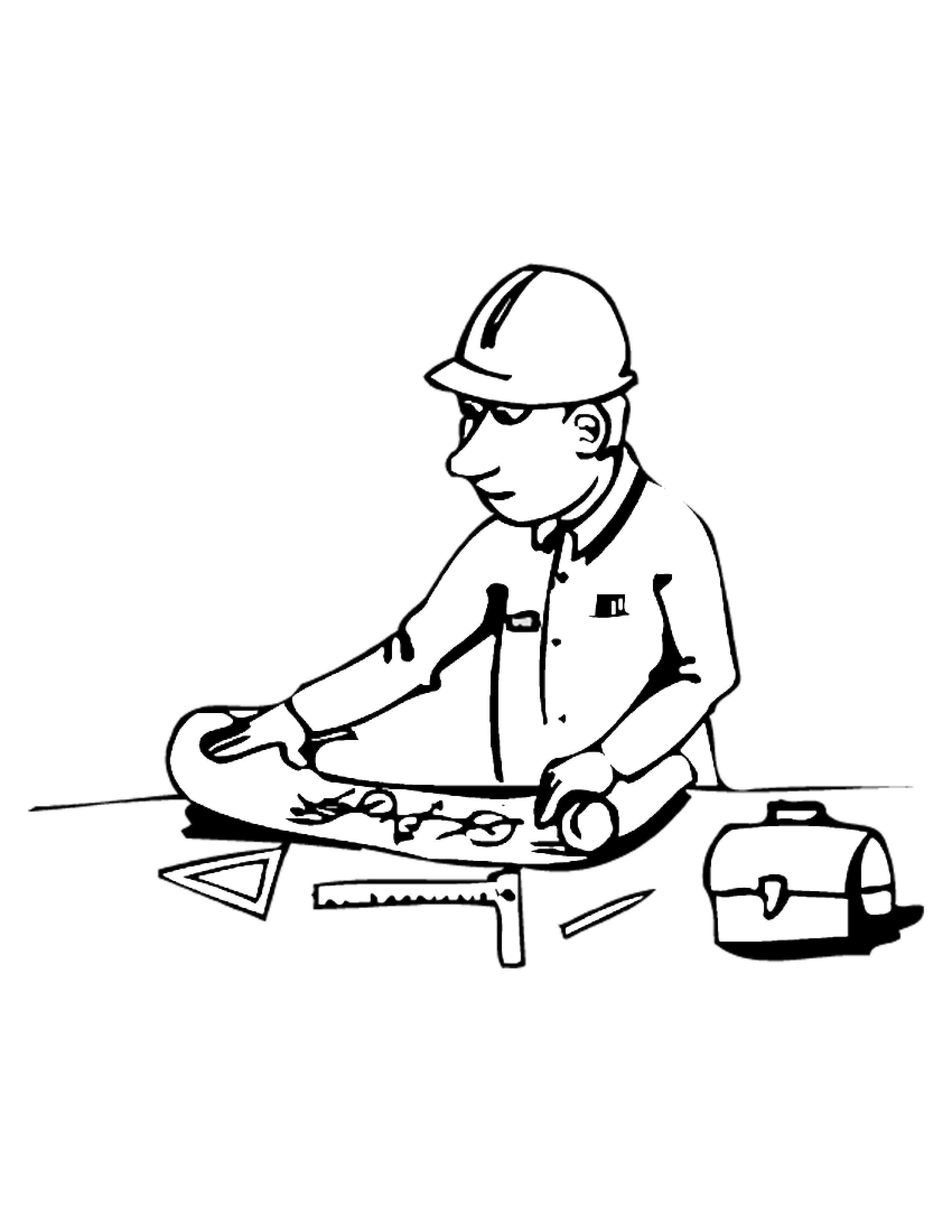 Construction Equipment Coloring Pages | Clipart Panda ...