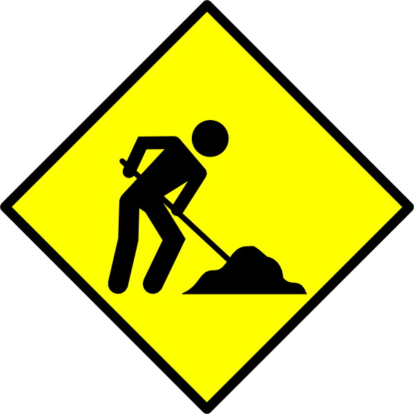 Construction Sign Clipart | Clipart Panda - Free Clipart ...