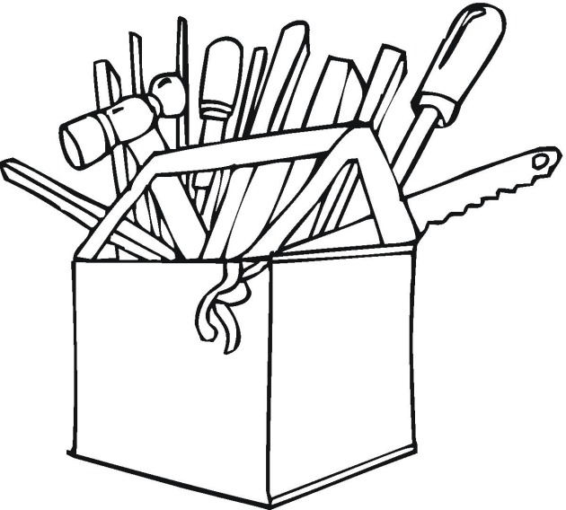 construction20tools20coloring20pages - Construction Tools Coloring Pages