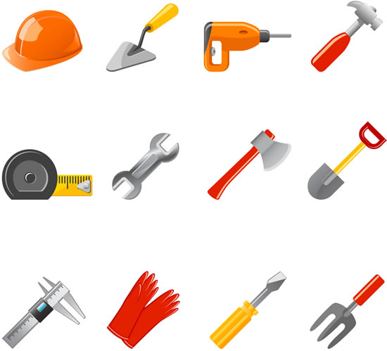 Construction tool vector