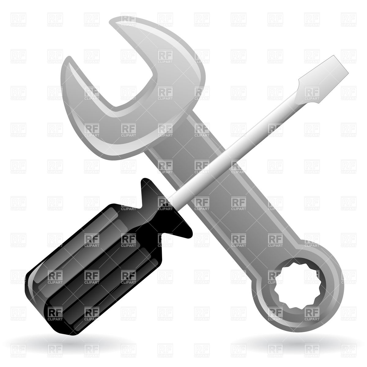 Screwdriver Icon Png Black wrench iScrewdriver Png