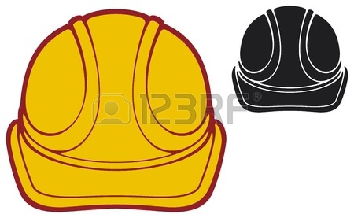 construction worker hat clipart-#42