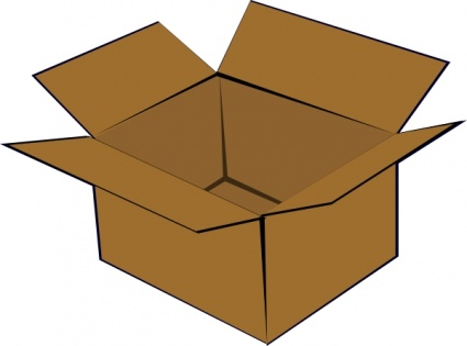 Cardboard Box clip art | Clipart Panda - Free Clipart Images