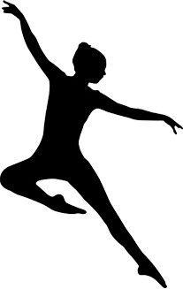 Ballet Shoes Clip Art Black And White