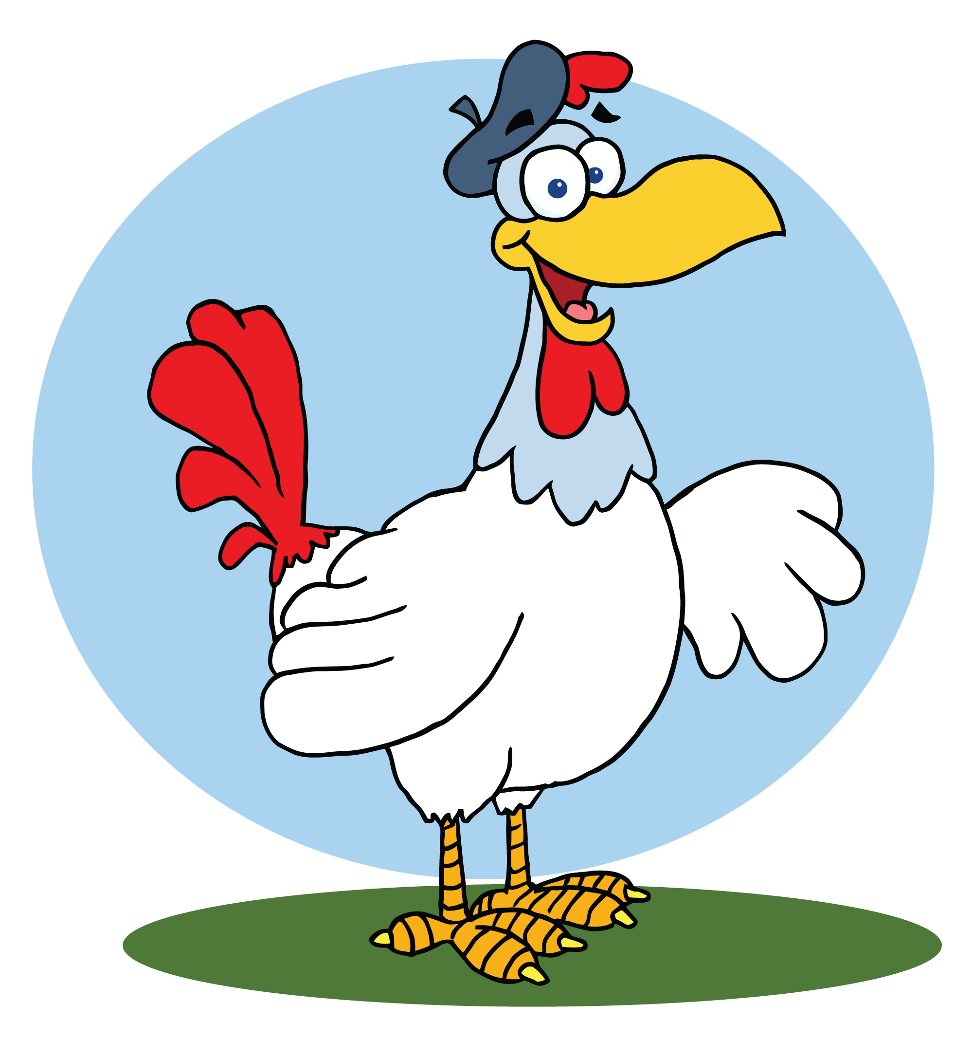 ... Chicken Clipart Black And White | Clipart Panda - Free Clipart Images