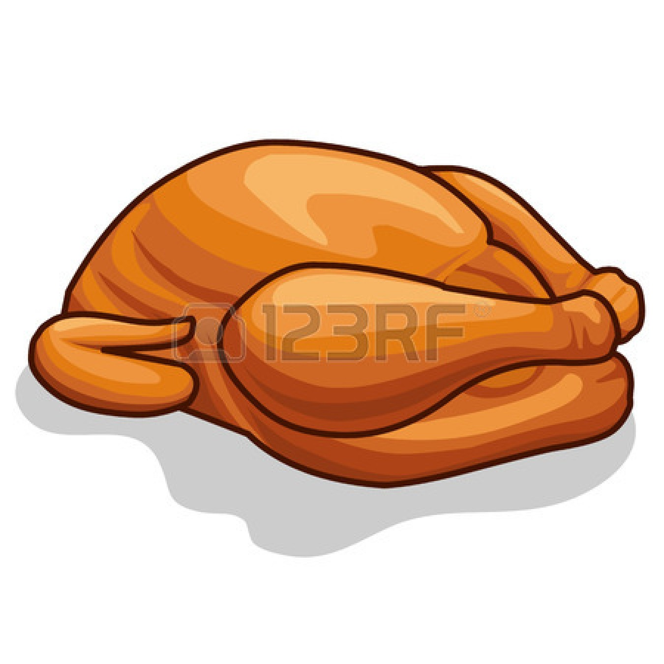 Cooked Chicken Leg | Clipart Panda - Free Clipart Images