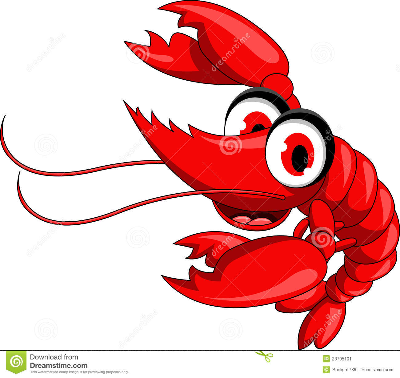 Cooked Shrimp Clipart | Clipart Panda - Free Clipart Images