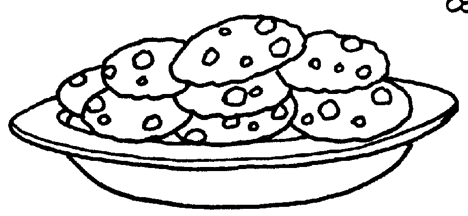 Cookie Clipart Black And White Bitten | Clipart Panda - Free Clipart ...