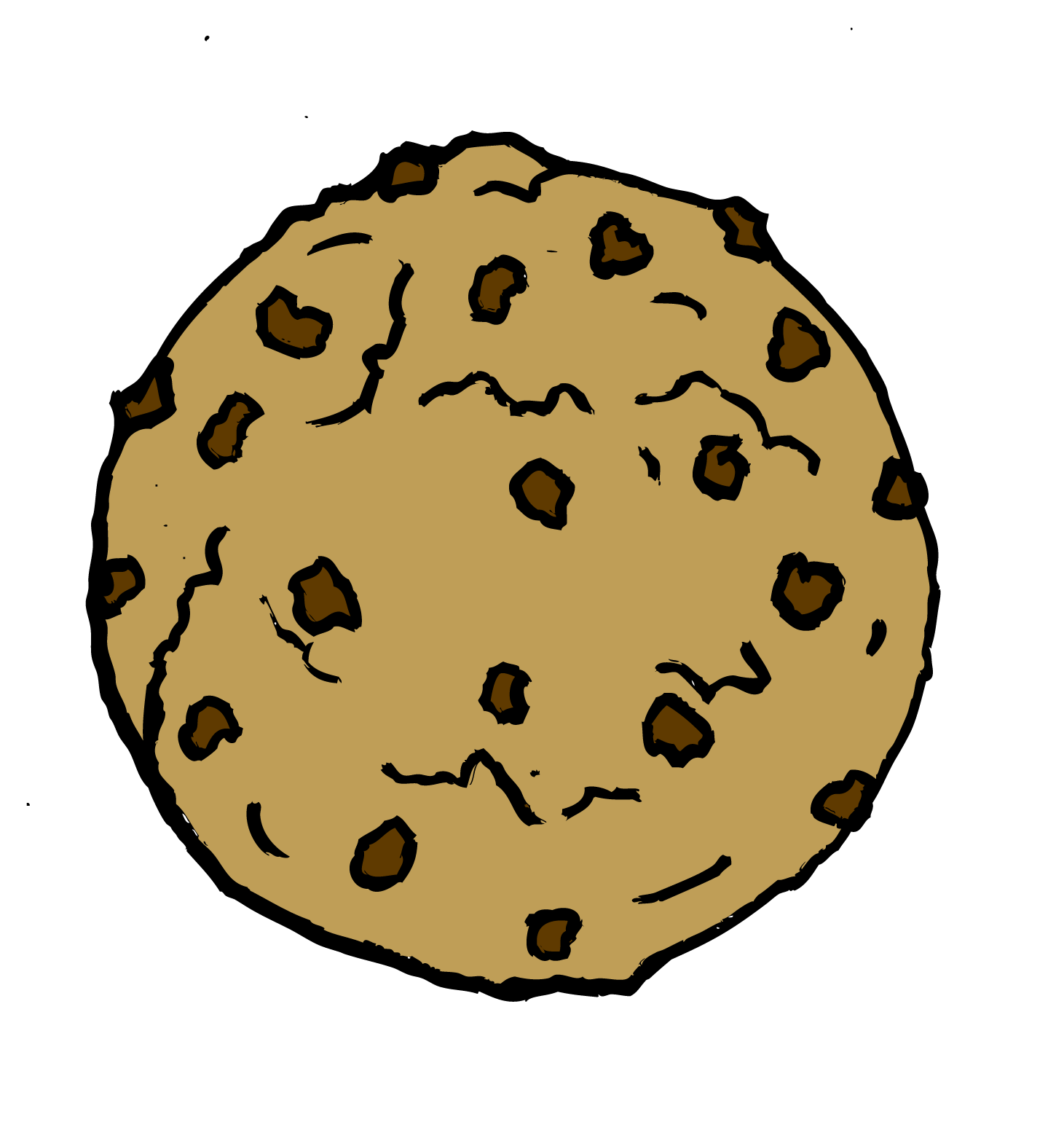 Chocolate Chip Cookie Clip Art | Clipart Panda - Free ...
