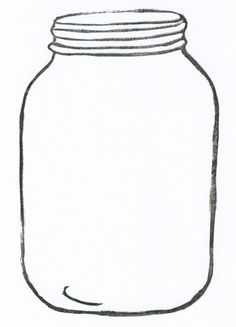 Cookie Jar Clipart Outline